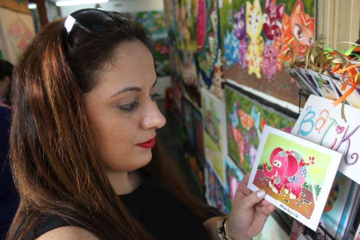 D.I.Y in Kuala Lumpur: Batik Painting Workshop !