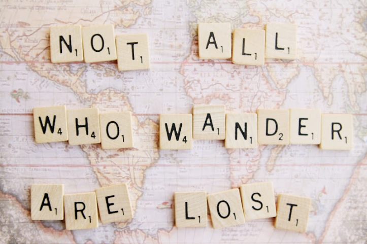 Wander-lost and loving it.