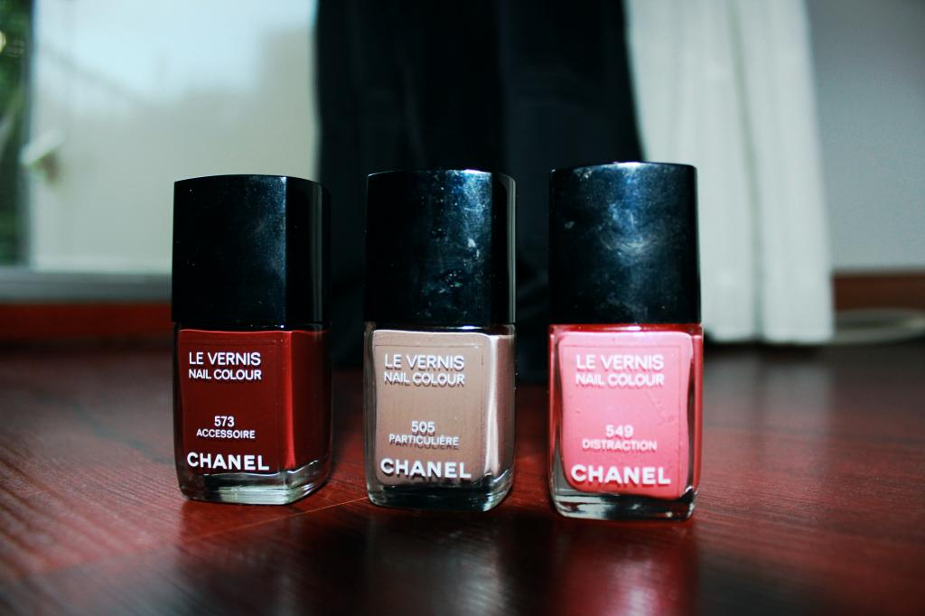 My Chanel Midsummer nail polish picks