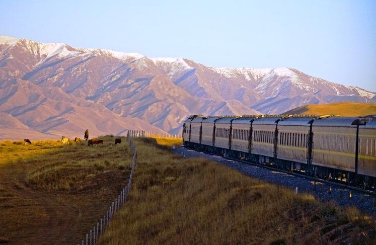 Golden Eagle Trans-Siberian Express tourism destinations