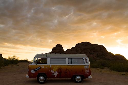 KDF-Van-AZ-Sunset
