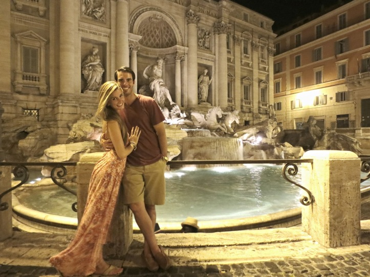 The Nomadic Newlyweds in Rome