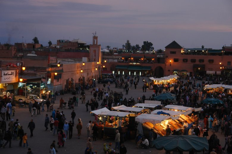 Marrakech, Marokko-Thumb
